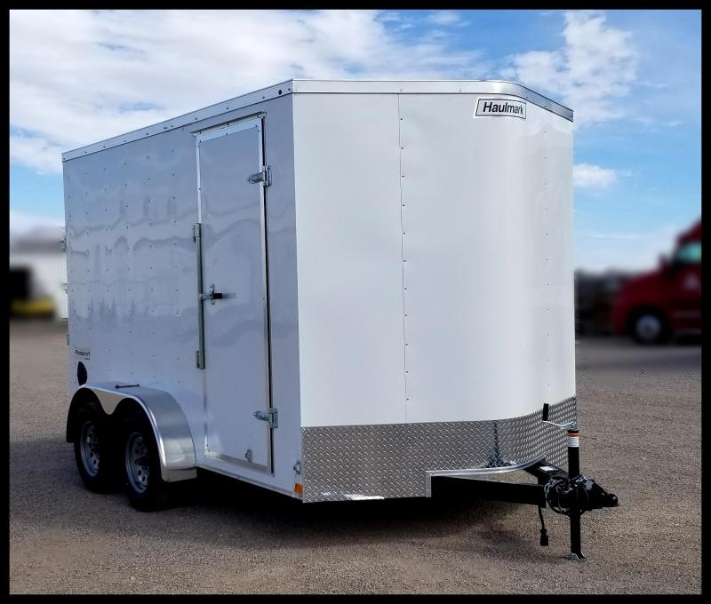 2020 Haulmark 7 x 12 Enclosed Cargo Trailer