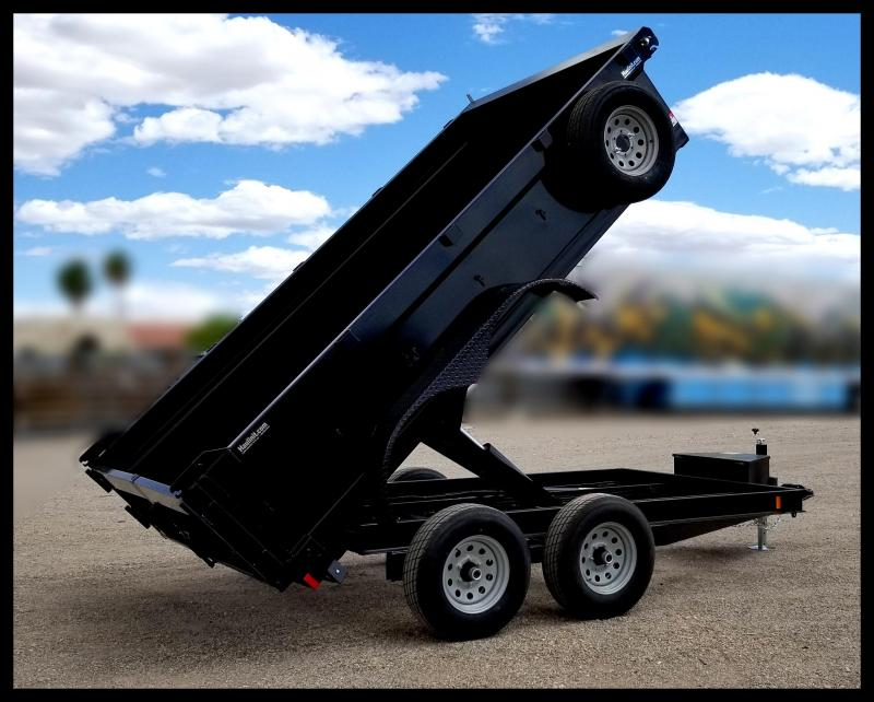 2020 Innovative  83 x 12 Dump Trailer