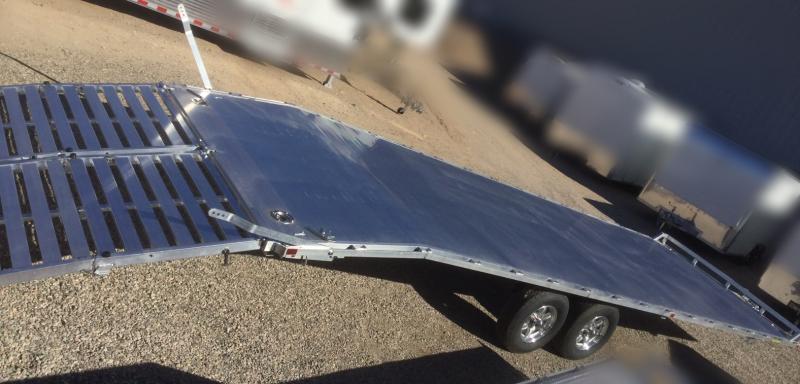 2020 Aluma 102 x 28 Deck Over Flatbed Trailer