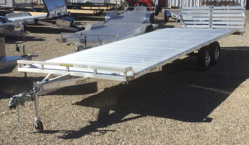 2020 Aluma 102 x 28 Deck Over Flatbed Trailer