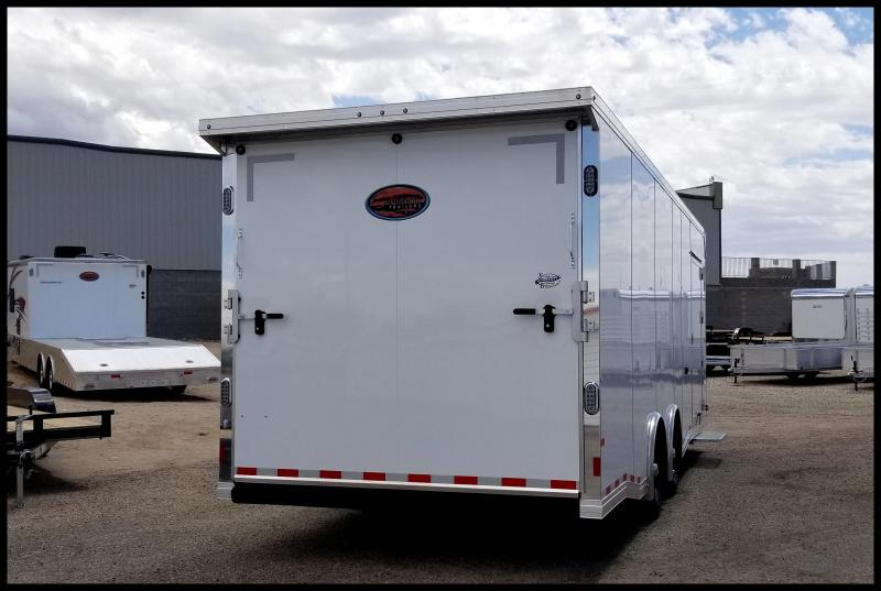 2019 Sundowner 8.5 x 28 Aluminum Race Series Enclosed Trailer
