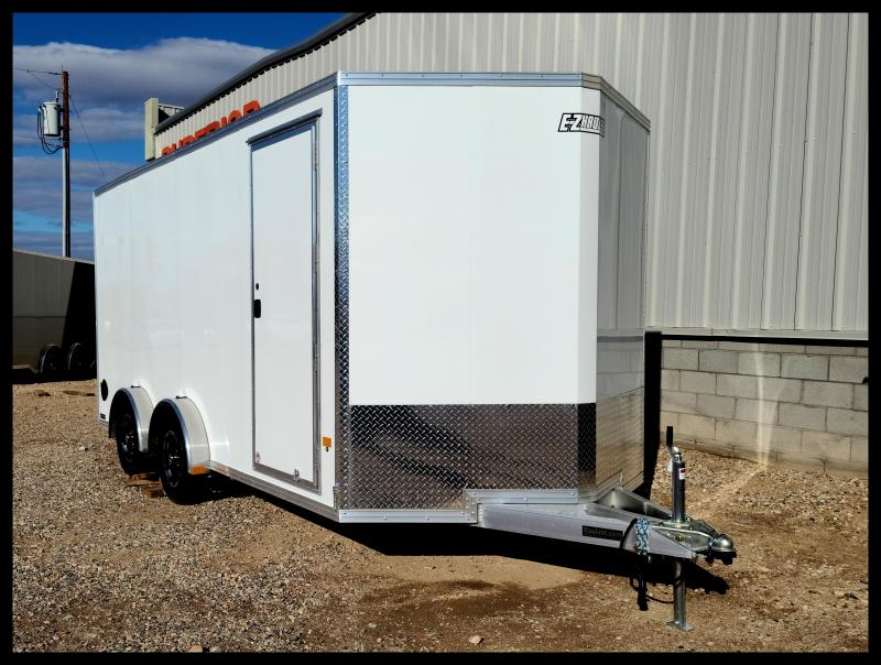 2021 ALCOM EZEC75X16 Enclosed Cargo Trailer