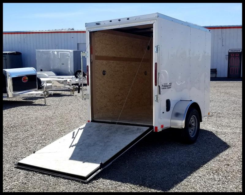 2020 Haulmark 5 x 8 Enclosed Cargo Trailer
