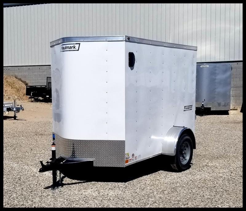 2020 Haulmark 5 x 8 Enclosed Cargo Trailer