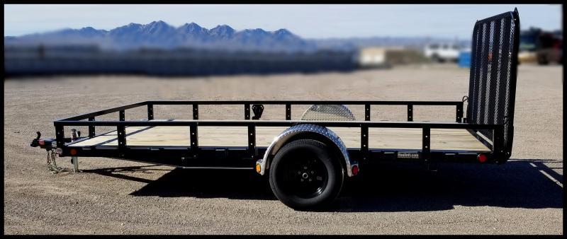 2020 PJ Trailers 83 x14 Utility Trailer