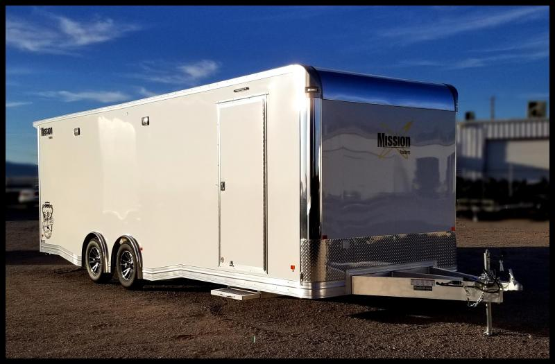 2020 Alcom-Stealth 8.5 x 24 Race Car Series Enclosed Cargo Trailer