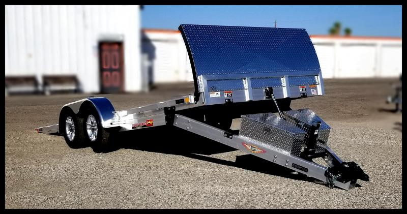 2020 H and H Trailer EXA 20 SpeedLoader Flatbed Trailer
