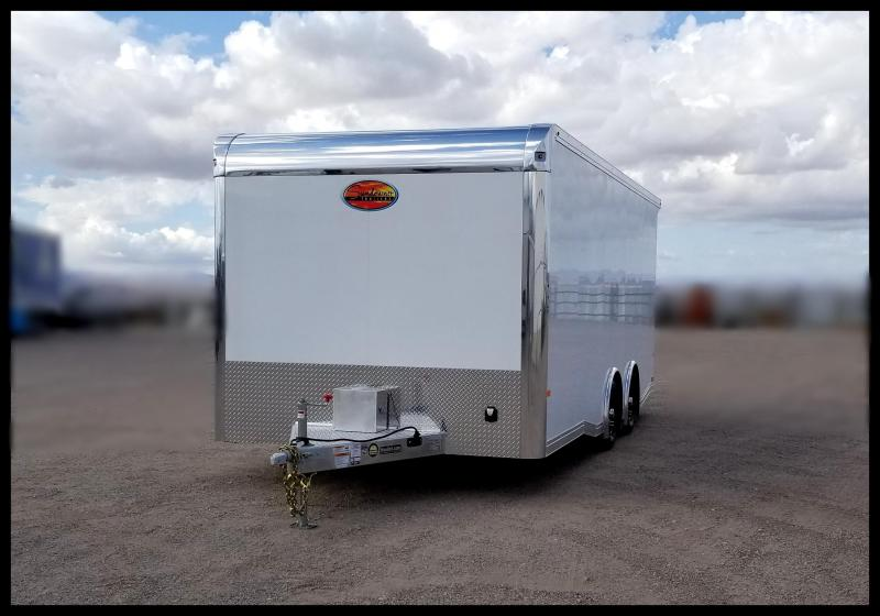 2020 Sundowner Trailers 8.5 x 20 Aluminum Enclosed Enclosed Cargo Trailer