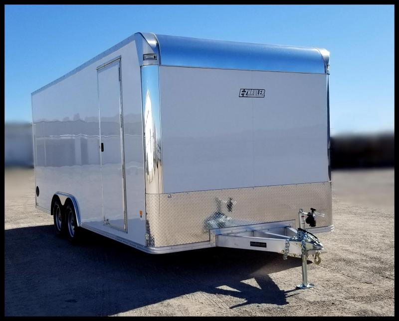 2020 Mission 8 x 20 Aluminum Enclosed Cargo Trailer