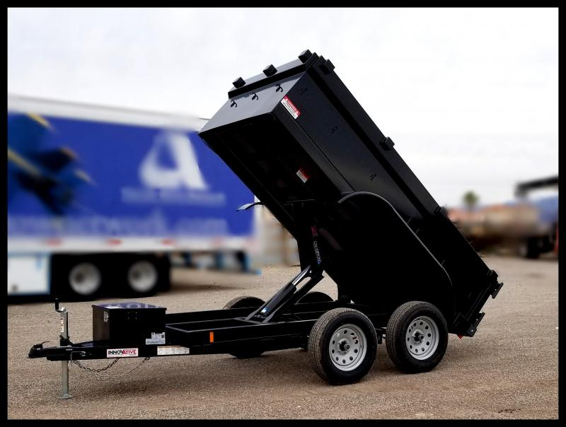 "2020 Innovative Trailer Mfg. 60""x10 Dump Trailer Dump Trailer"