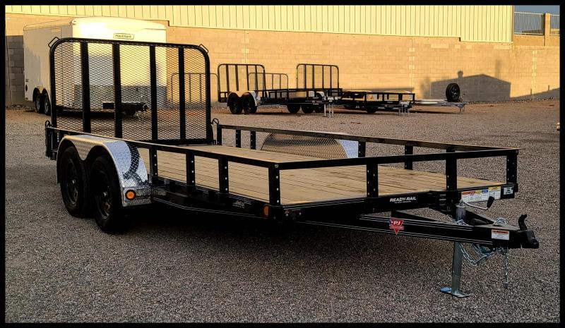 2021 PJ Trailers 83 x 16 Tandem Axle Utility Trailer