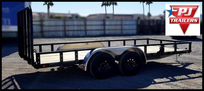 2020 PJ Trailers 83 x 16 Utility Trailer