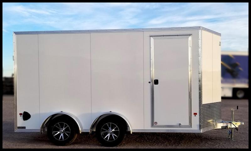 2020 Alcom-Stealth EZEC7.5x14 ATV Trailer