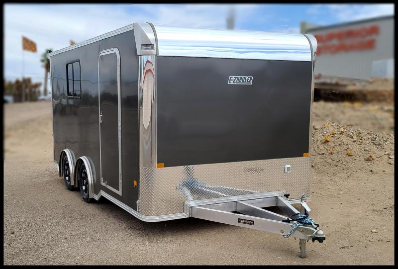 2021 Mission EZ Hauler Enclosed Cargo Trailer