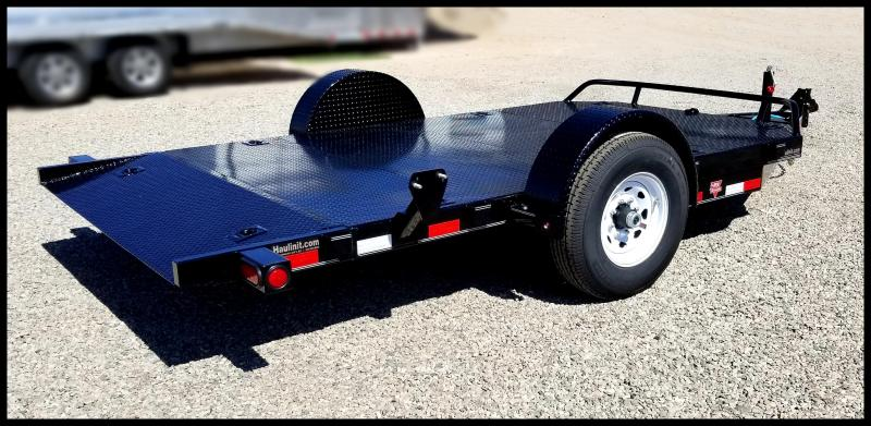 "81""x13' single axle tilt trailer"
