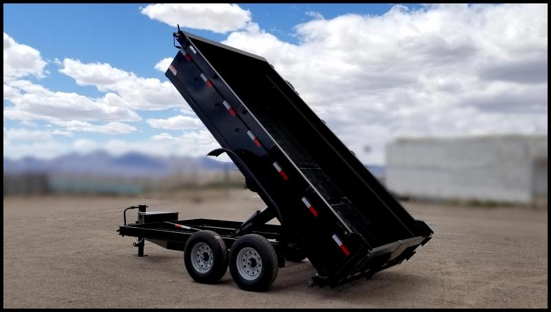 2020 Innovative Trailer Mfg. 7x14 Dump Trailer Dump Trailer