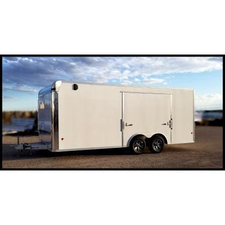2019 Mission EZ Hauler 8.5 x 20 Aluminum Enclosed Cargo Trailer