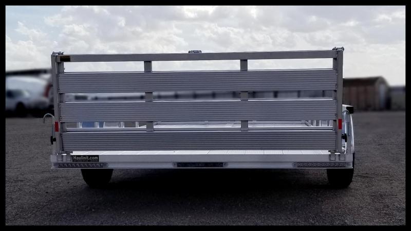 2020 H and H Trailer 8.5(82)X14 RAILSIDE ALUM 3K