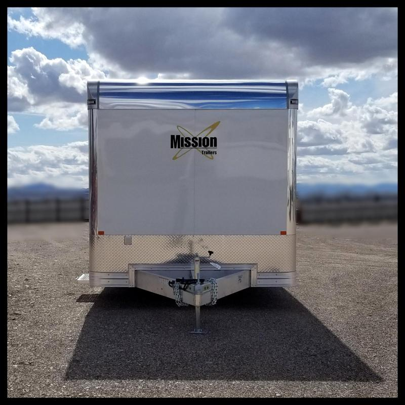 2020 Mission 8.5 x 22 Car / Racing Trailer