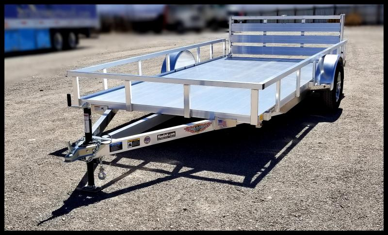 2021 H and H Trailer 8.5(82)X14 RAILSIDE ALUM 3K