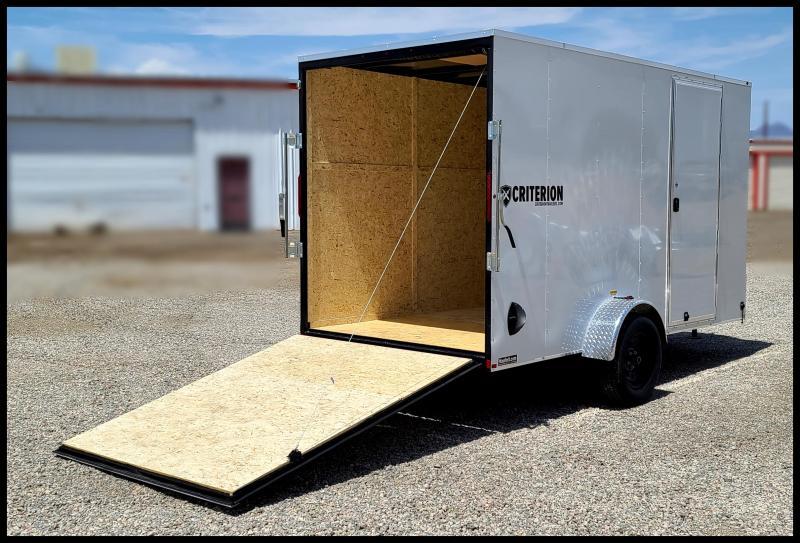 2021 Criterion 6 x 12 Enclosed Cargo Trailer
