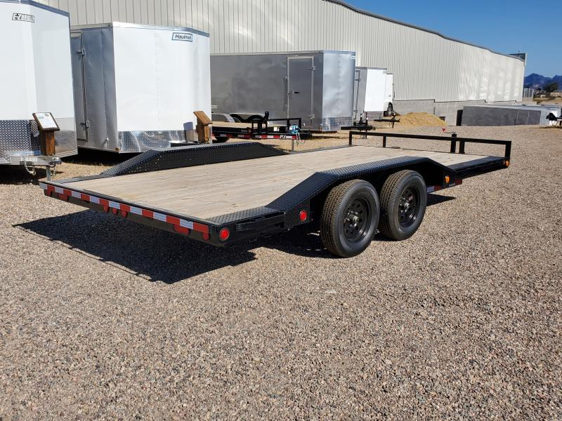 2020 PJ Trailers 102X16 Buggy Hauler Flatbed Trailer