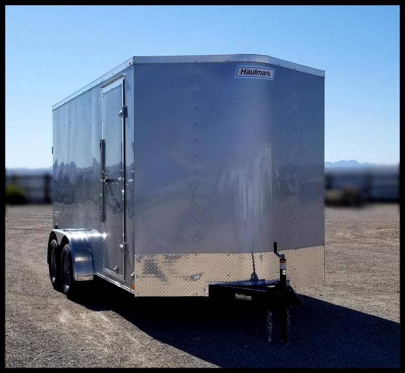 2020 Haulmark 7 x 14 Enclosed Cargo Trailer