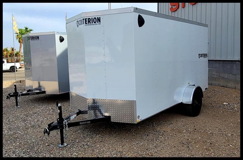 2022 Criterion 6 x 12 Enclosed Cargo Trailer