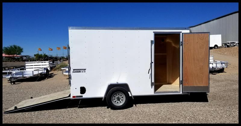 Haulmark 6 x 12 Enclosed Cargo Trailer