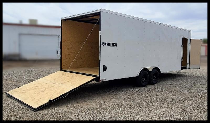 2021 Criterion 8.5X24 Enclosed Cargo Trailer