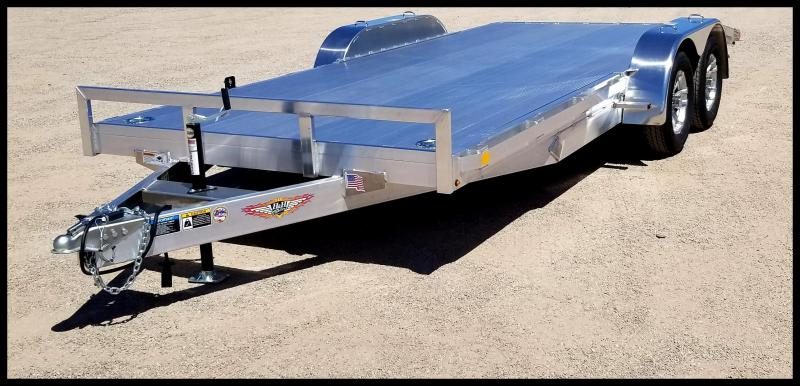 2020 H and H Trailer 82X16+2DOVE ALUM HEAVYDUTY 7K