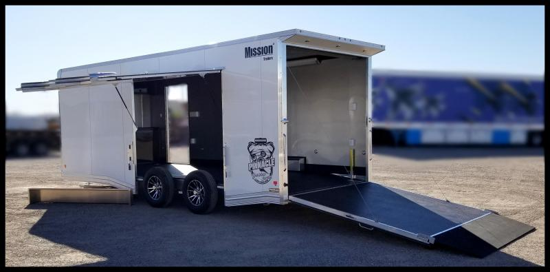2020 Mission 8.5 x 22 Enclosed Cargo Trailer