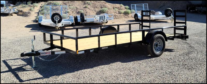 2020 Innovative  83 x 14 Single Axle Utility Trailer