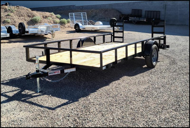 2020 Innovative  83 x 14 Single Axle Utility Trailer