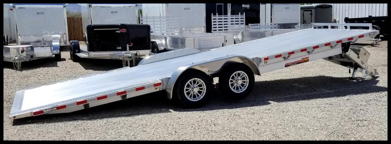 2020 H and H Trailer 102x24 EXA Car / Racing Trailer