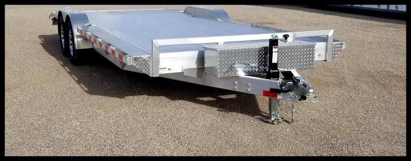 2020 H and H Trailer 102  x 18+2 DOVE ALUM HEAVYDUTY 10K