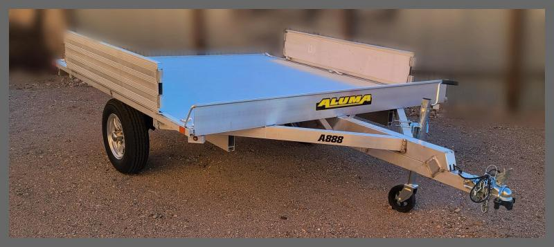 2021 Aluma A888 Utility Trailer