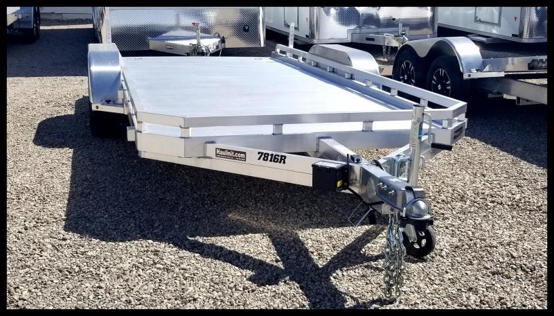2020 Aluma 78 x 16 Flatbed Trailer