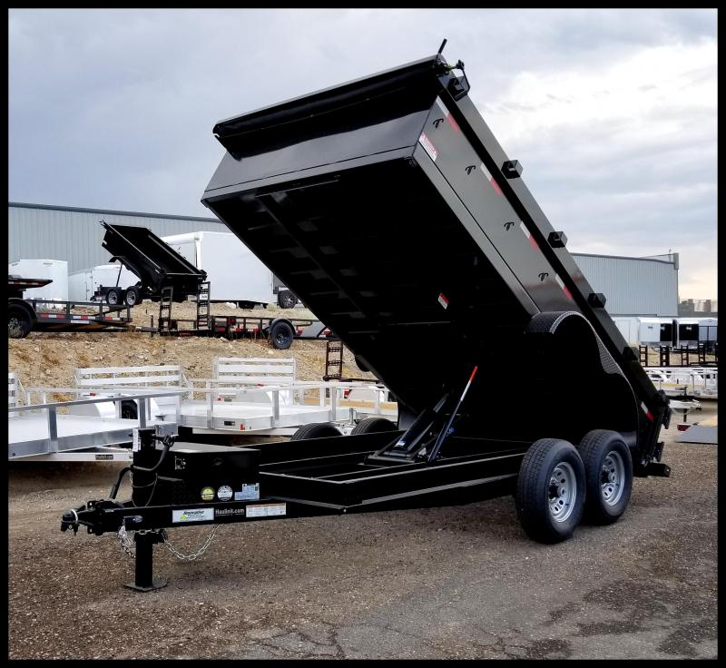 2020 Innovative 83 x 14 14000 GVWR Dump Trailer