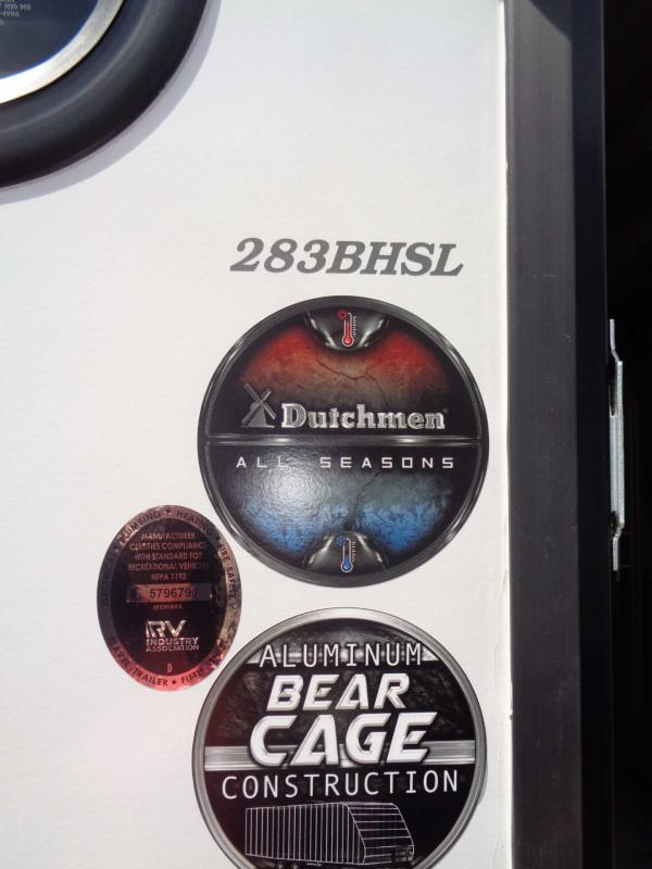 2021 Dutchmen Manufacturing Kodiak 283BHSL