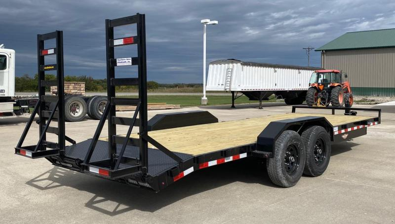 2021 H and H Trailer 22' Equipment Trailer