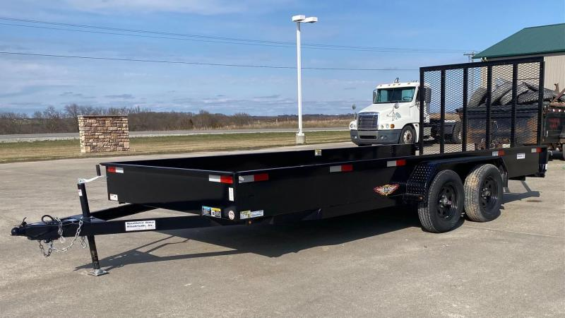 2021 H&H Trailers 18' Tandem Utility Trailer