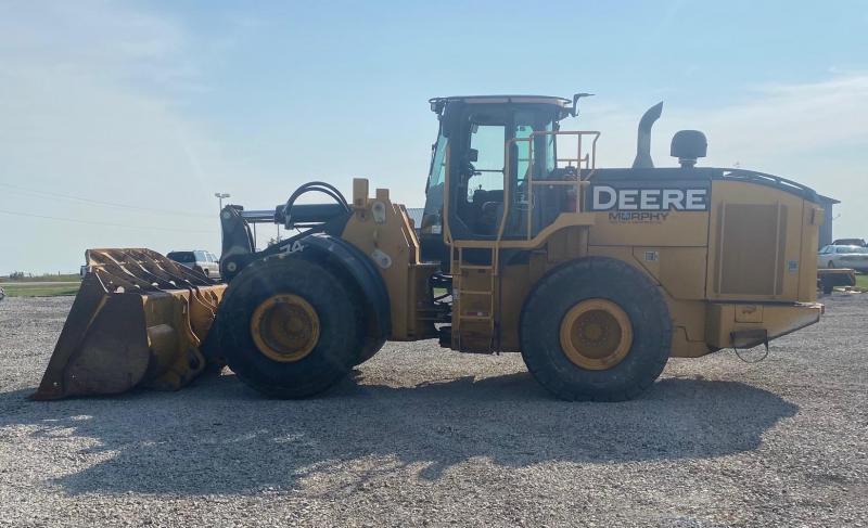 2012 John Deere 744K Wheel Loader