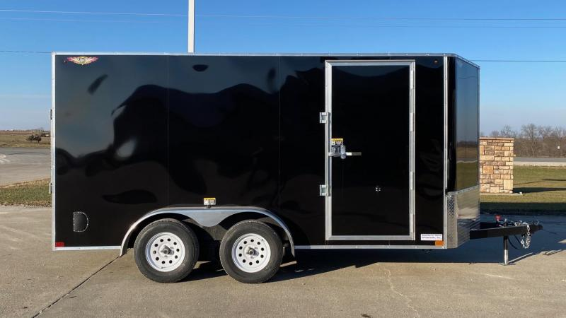 2021 H & H Trailers 7'x14' V-Nose Enclosed Cargo Trailer