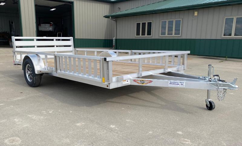 "2021 H and H Trailer 14"" Aluminum ATV Trailer"