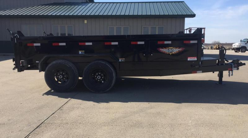 2020 H and H Trailer 14' Indutrial 14k Dump Trailer
