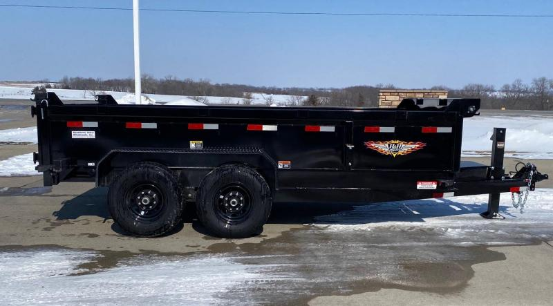 2021 H and H Trailer 14' Indutrial 14k Dump Trailer