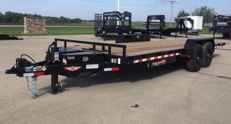 2021 H and H Trailer 22' Speed Loader Equipment Trailer