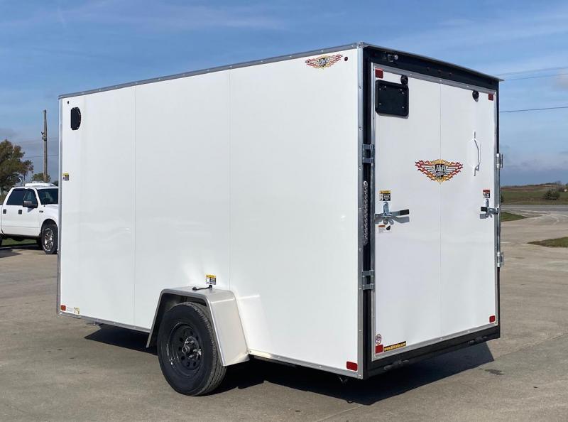 2021 H and H Trailer V-nose Enclosed Cargo Trailer