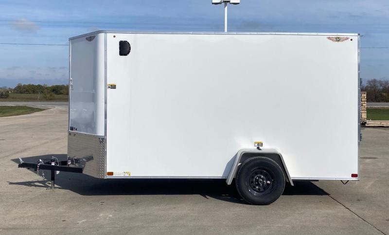 2021 H and H Trailer V-nose Enclosed Cargo Trailer